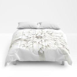 Dahlia Sketch Comforters