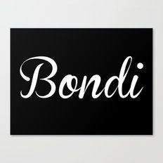 Bondi Canvas Print