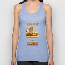 Royale with Cheese Unisex Tank Top