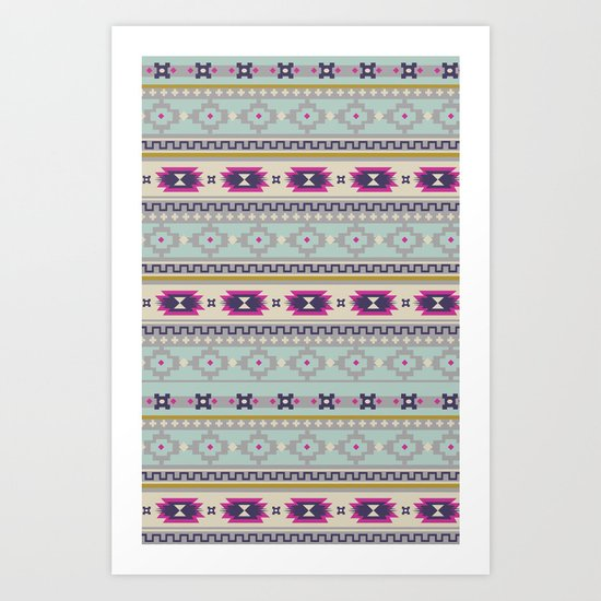 Lovely Tribal Art Print