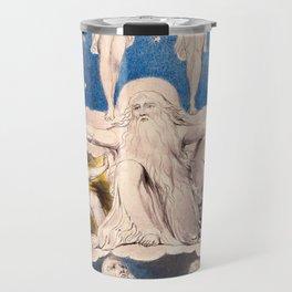 "William Blake ""When the Morning Stars Sang Together"" Travel Mug"