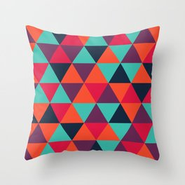 Crystal Smoothie Throw Pillow