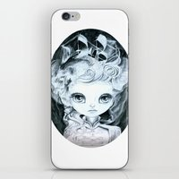 marie antoinette iPhone & iPod Skins featuring Marie Antoinette by ZELYSS