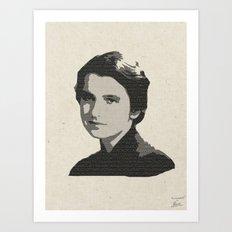 Rosalind Franklin Art Print