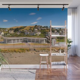 Seafront Cafe Wall Mural