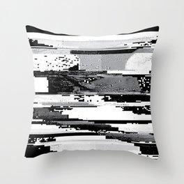 Glitch Throw Pillow
