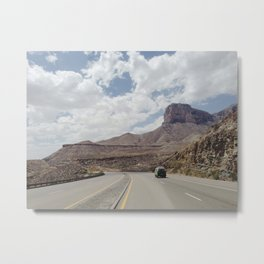 Road Trip Out West Metal Print