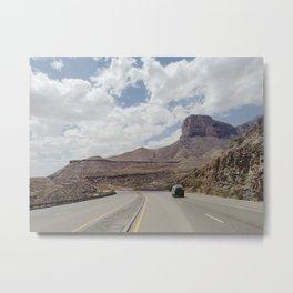Road Trip Out West Metal Print
