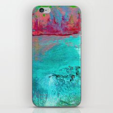 Turquoise Ocean iPhone & iPod Skin
