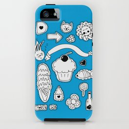 Sticker World iPhone Case