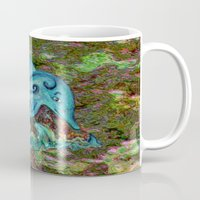 dolphin Mugs featuring Dolphin by gretzky