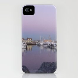 Fremantle boats iPhone Case