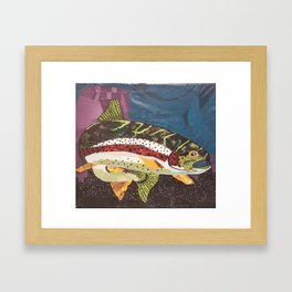 Rainbow Trout Framed Art Print