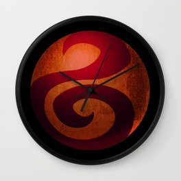 Design-22 Red Wall Clock