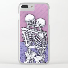 At The End Of All Things Clear iPhone Case