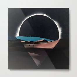 Inverse Shadow of the Eclipse Metal Print