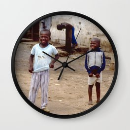 Yeah, You Wanna Take My Picture? Wall Clock