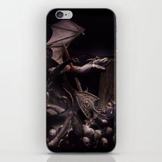 Dearg Doom the dragon Slayer iPhone & iPod Skin