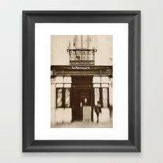 La Mantequería  Framed Art Print