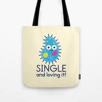 biology Tote Bags featuring It's All About Paramecium by David Olenick