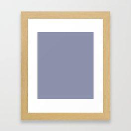 Cool Gray Framed Art Print