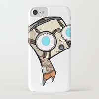 borderlands iPhone & iPod Cases featuring Borderlands Bandit GIR by Diffro