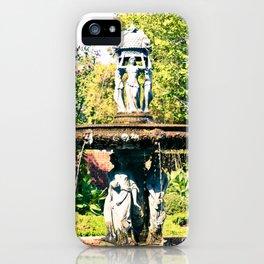 Cajun Fountain iPhone Case