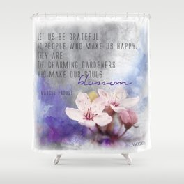 Our Charming Gardeners Shower Curtain