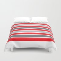 stag Duvet Covers featuring Stag by Alexander Studios