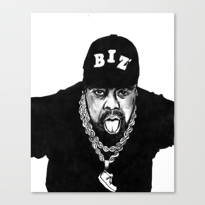 Nobody Beats The Biz Canvas Print by Zeruch CNV8990771