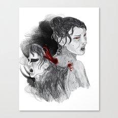 Black Swan II Canvas Print