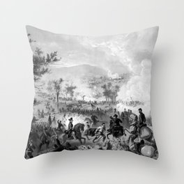 Battle of Gettysburg Throw Pillow