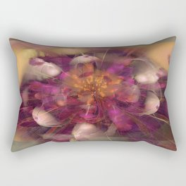Beauty Explodes Rectangular Pillow