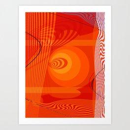 Sunrise-001 Art Print