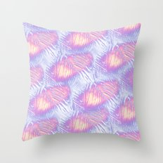 Hot Summer days Throw Pillow