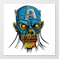 Zombie America Canvas Print
