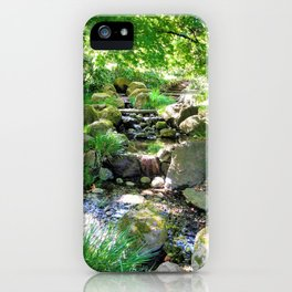 Tranquil stream iPhone Case