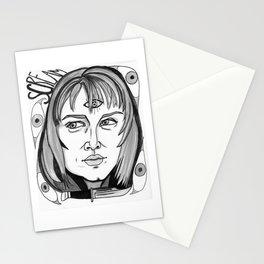 Final Girl: Sidney Prescott from Scream Stationery Cards