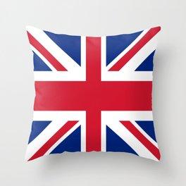 flag of uk- London,united kingdom,england,english,british,great britain,Glasgow,scotland,wales Throw Pillow