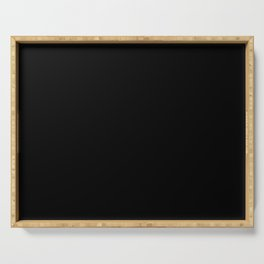 Pure Black - Pure And Simple Serving Tray
