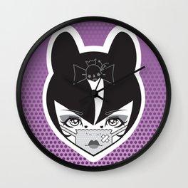 Kuro Kawaii Harajuku Goth Lolita Wall Clock