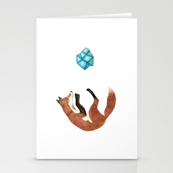Blue Fox Stationery Cards