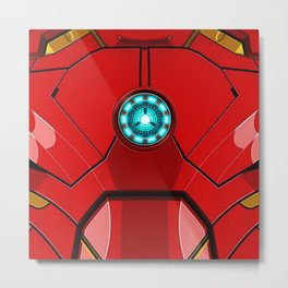 IRON MAN Iron man Body Armor Metal Print