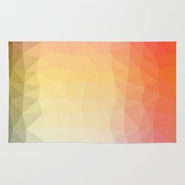 abstract pattern polygon Rug
