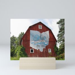 Bicentennial Barn VI Mini Art Print