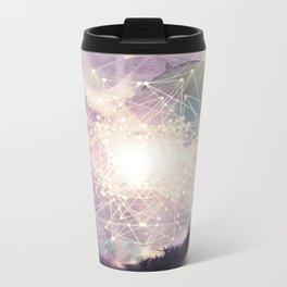 sacred geometry Metal Travel Mug