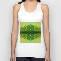 leaf Tank Tops featuring Leaf by Cs025