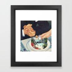 Bermuda a'la Soup Framed Art Print
