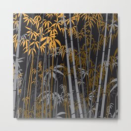 Bamboo XI Metal Print