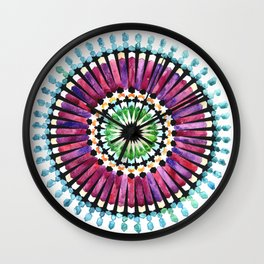 IG Mandala Wall Clock